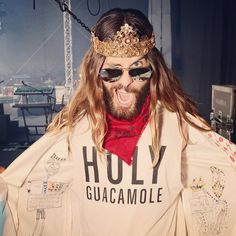 "Jaredleto: ""#Battlegear in Monchengladbach, Germany!! #LoveLustFaithDreamsTour"""