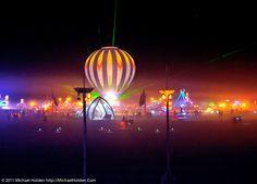 Hot Air at Burning Man 2010   by Michael Holden