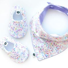 [ Lilac Confetti ] A sweet set for little girls...  www.littleKMD.com