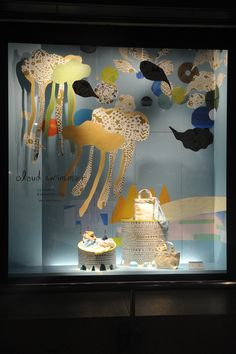2015.4.22 wed - 本館ウィンドー 「Mother's Day goen゜ plant planet by 森本千絵」 http://isetanparknet.com/ #windowdisplay
