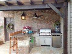25 lovely outdoor kitchen that will make you wish summer all year round - Comfortable home
