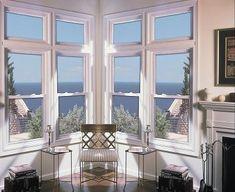 Double Hung Windows, Bedroom Windows, Master Bedroom, Kitchen Ideas, Corner, Google Search, Image, Windows, Master Suite