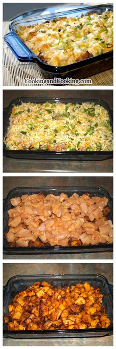 Spicy Potato and Chicken Casserole Recipe