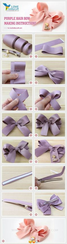 Hairbow with instructions