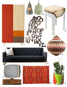 Adrienne's MCM-Inspired Global Mix Dream Living Room Inspiration