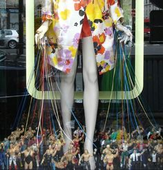 #photography #France #style #fashion #Paris #merchandising #window #display #toys #men