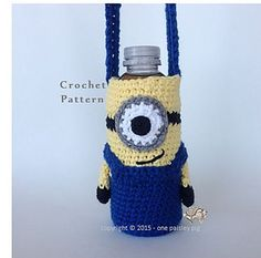 Ravelry: Minion Water Bottle Holder pattern by Paisley D