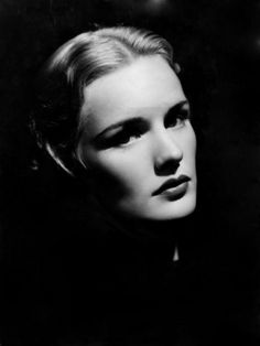 wow this picture says so much of Frances Farmer, (1913-1970) c.1936 (II)