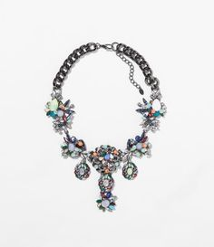 Image 1 of MULTICOLOUR NECKLACE from Zara