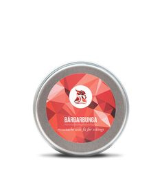 Our Bárðarbunga moustache wax packs a punch that is fitting a moustache wax named after this volcano that erupted last in 2014.