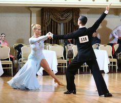 Charlene Proctor and Michael Choi dance the American style Tango at the New York Dance Festival 2015.  https://www.facebook.com/photo.php?fbid=10153066765979424