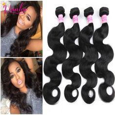 Natural Hair Extensions Malaysian Virgin Hair Malaysian Body Wave 3 Bundles Grade 7a Body Wave Bundle Deals Human Hair Weave 1B