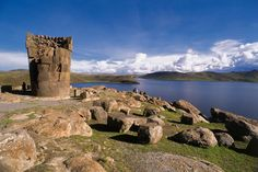Ruins in Puno. A 240 mile drive from Cuzco to Puno is filled with Incan ruins and jagged mountain vistas.