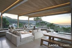 South-African design home with awesome view