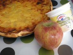 Tarta de manzana y vainilla