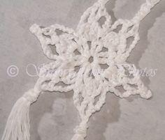 Crochet Snowflake - Free Pattern