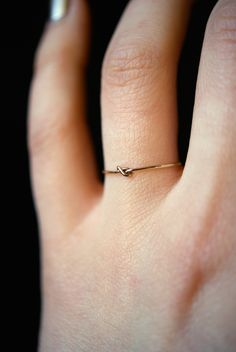 Tiny Ultra Thin Closed Knot ring in gold filled, delicate gold ring, gold stacking ring, gold knot ring, tiny closed knot ring Cute Jewelry, Jewelry Rings, Silver Jewelry, Silver Rings, Jewelry Sets, Thin Rings, Cute Rings, Gold Knot Ring, Ringe Gold