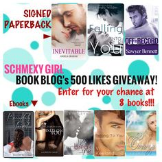 Schmexy Girl book blog has 500 LIKES and is ready to celebrate with a giveaway!! Check it out!