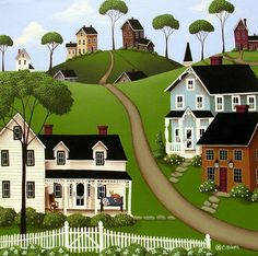 *Higginsville Painting by Catherine Holman*