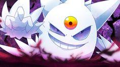 Shiny Mega Gengar Ghost Type Pokemon, Pokemon Stuff, Gengar Pokemon, Venom Art, A Hat In Time, Pics Art, Digimon, Cool Drawings, Coaches