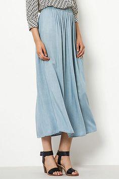 Selected Femme Aleja Maxi Skirt #anthropologie