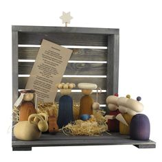 Aarikka - Christmas : Jouluseimi nativity set