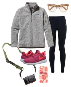 """""""Untitled #49"""" by soxxph on Polyvore featuring DSPTCH, NIKE, Patagonia, Wildfox and Kate Spade"""