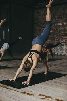 Three legged downward dog. Yoga poses + yoga inspiration + fitness inspiration + workout motivation
