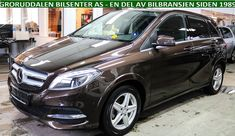 BMW i3, Mercedes-Benz B-Klasse, 'B250E', Østfold+Akershus+Buskerud+Vestfold+Telemark+Oslo, Bil