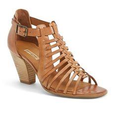 "Paul Green 'Christy' Leather Sandal, 3"" heel - Polyvore"