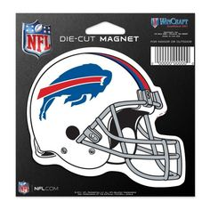 "Buffalo Bills 4.5"" x 6"" Die-Cut Car Magnet from TailgateGiant.com"