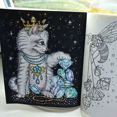 #hannakarlzon #dagdrömmar #dagdrömmarhannakarlzon #hannakarlzondagdrömmar #sommarnatt #hannakarlzonsommarnatt #jardimsecretotop #jardimsecreto #colouring #colors #colouring #coloringbook #creative #animals #animal #adult #adultcoloringbook #antistress #antistresoveomalovanky #omalovankyprodospele #fabercastell #polychromos #kohinoor #polycolor #cat #cats #drawing