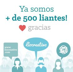 +de 500 liantes en #facebook #followers #500followers