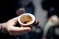 ritual coffee espresso flight at maker faire: five candles seasonal blend