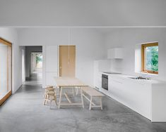 House on Gotland by Etat Arkitekter. House on Gotland is a minimal residence located in Gotland Sweden designed by Etat Arkitekter. Minimalist Interior, Minimalist Design, Minimalist House, Interior Architecture, Interior Design, Minimal Home, Architect House, Architect Design, Kitchen Design