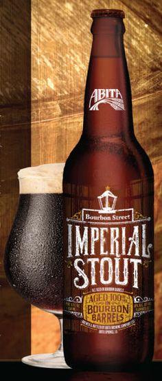 Abita Bourbon Street Barrel Aged Imperial Stout
