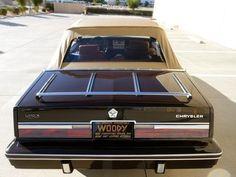 '83 Chrysler Lebaron Town & Country Mark Cross Edition