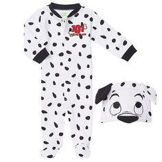 Disney Baby Boys 2 Piece 101 Dalmatians Footie and Matching Hat Set $16.99 @ Toys R Us - Hot Deals