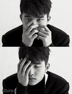 EXO's Do Kyung Soo for Allure Korea Photographed by Kim Yeong Jun Kyungsoo, Chanyeol, Exo Ot12, Kaisoo, Shinee, Two Worlds, Travie Mccoy, Kim Minseok, Wattpad