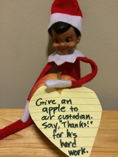 Using Elf on the Shelf in the Classroom | Scholastic.com…Lots of great ideas here for those last few days before vacation!