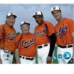 Orioles - Brooks Robinson, Earl Weaver, Frank Robinson and Jim Palmer!