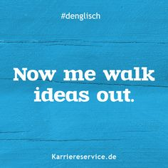 Denglisch – Sayings / Proverbs / Sayings - Humor Memes Best Quotes, Funny Quotes, Funny Memes, Hilarious, Say Say Say, English For Beginners, English Tips, Framed Words, German Quotes