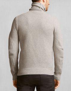 Littlehurst Jumper - Pale Grey Melange Cashmere Knitwear