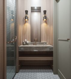 [Interior] Modernismo clásico y materiales elegantes en calma