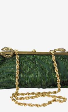Green Clutch - Roberto Cavalli