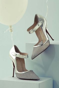 Christian Louboutin Silver Linings exclusives for Harrods Shoe Heaven