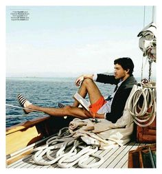 "Vincent Banic in ""Plein Soleil"" by David Ledoux for the French GQ"