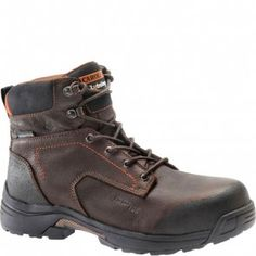 LT650 Carolina Men's WP 6IN Safety Boots - Brown www.bootbay.com