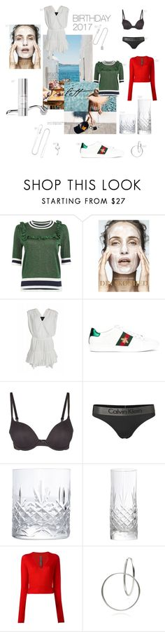 """wishes"" by mathildestaber on Polyvore featuring Designers Remix, Gucci, Calvin Klein and Rick Owens"