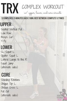 trx complex workout